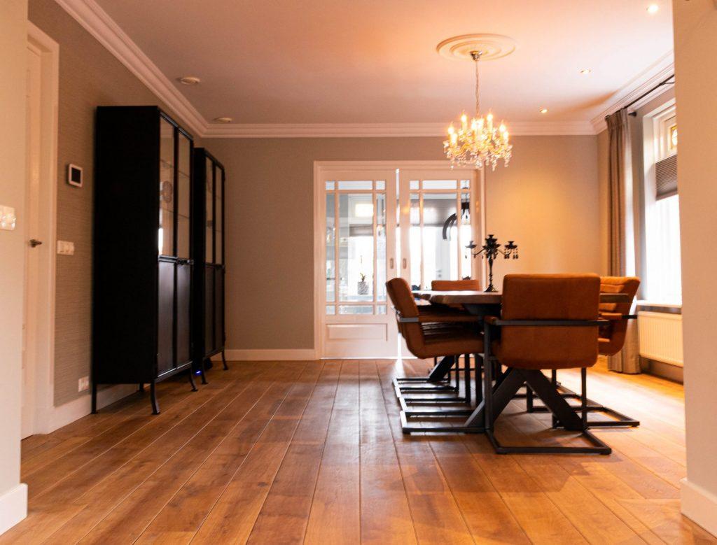 detailfoto woonkamer kleuradvies Zeeland