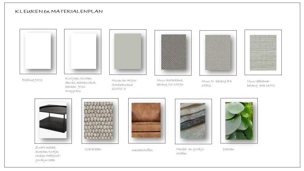 Materialen en kleurenadvies interieuradvies Zeeland