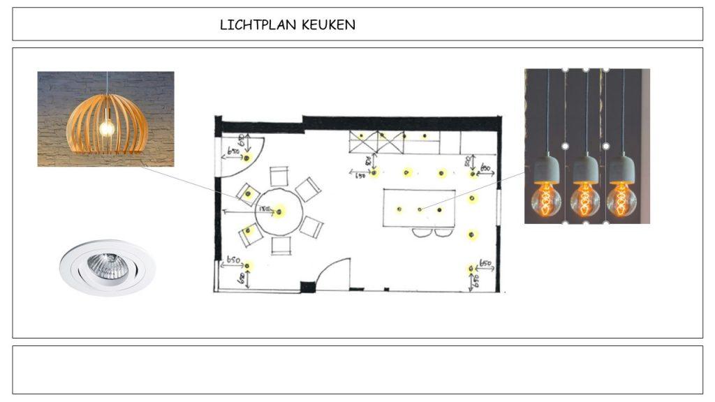 Verlichtingsplan Interieuradvies Boekel