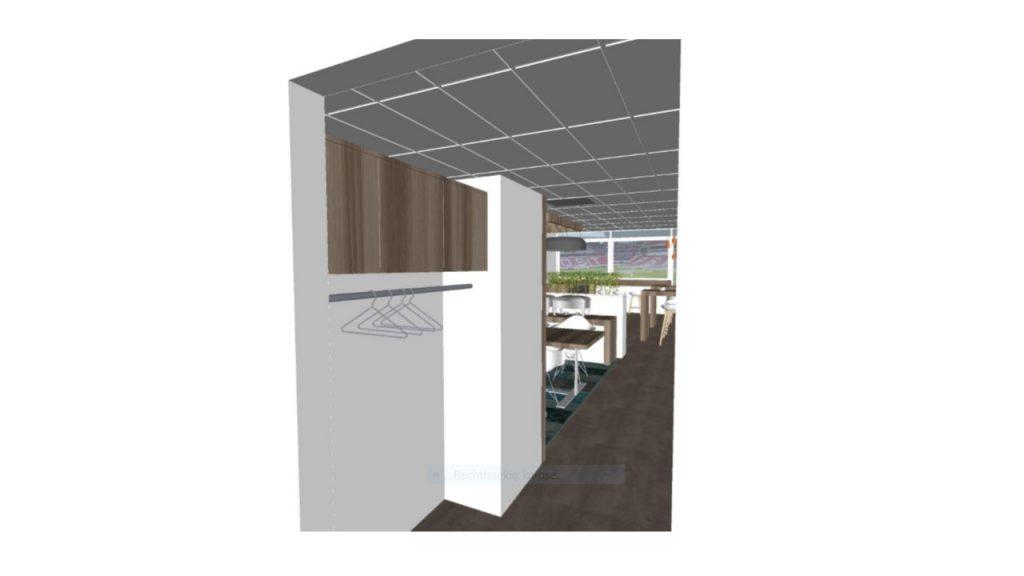 ontwerp advies interieur skybox Eindhoven