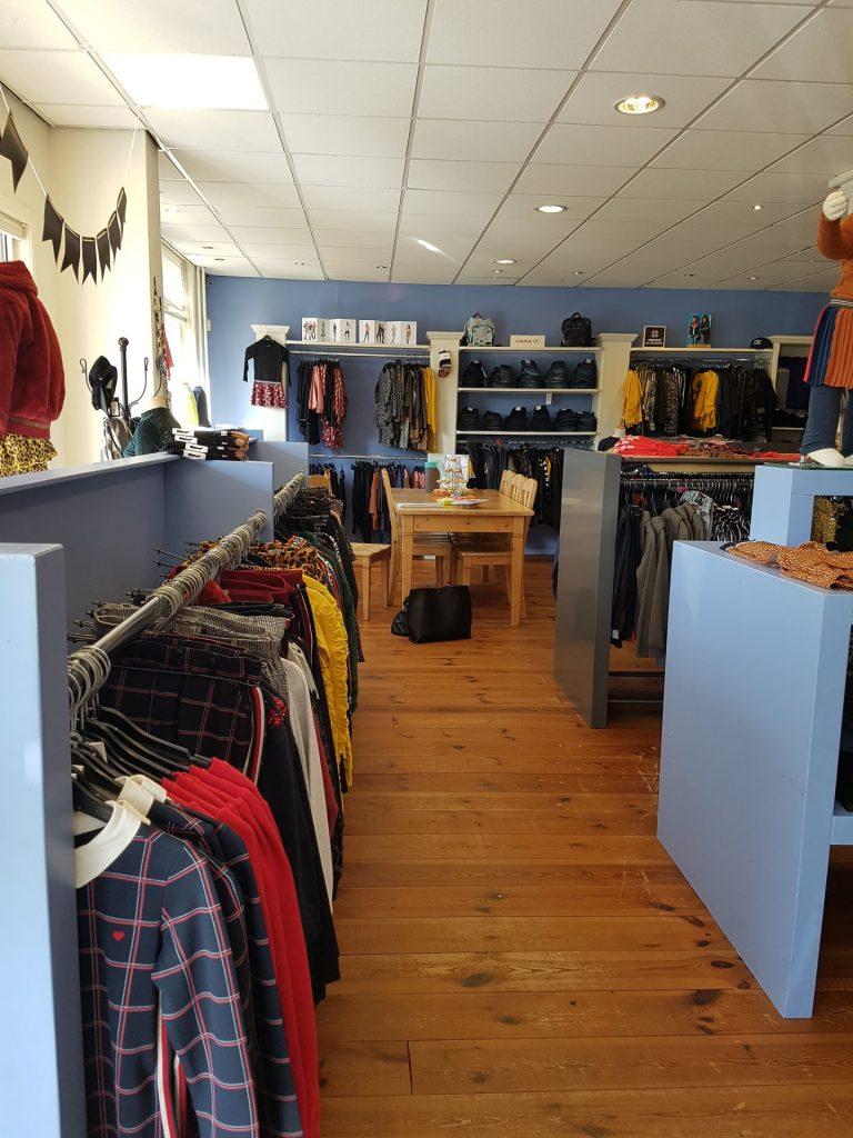 restyling interieuradvies kledingwinkel Boekel