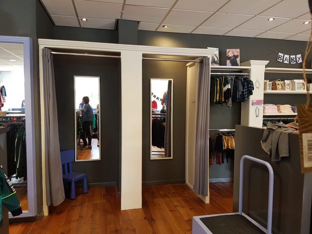 restyling interieurontwerp kledingwinkel Boekel