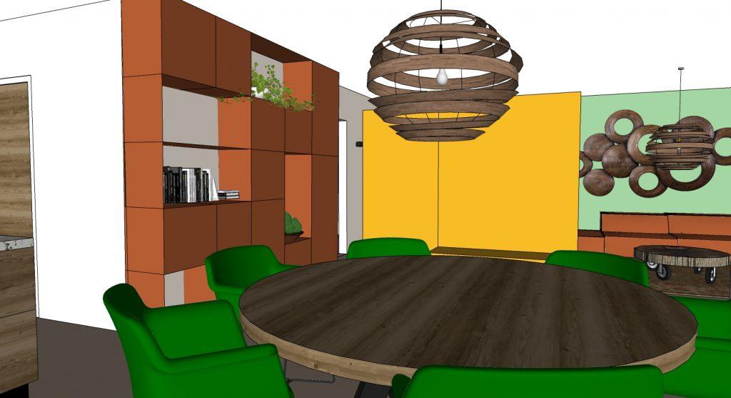 wandkast 3D interieuradvies Handel